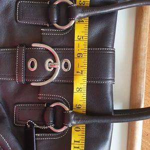 """Coach purse handbag black 13""""×10"""" No L0793-F10913"""